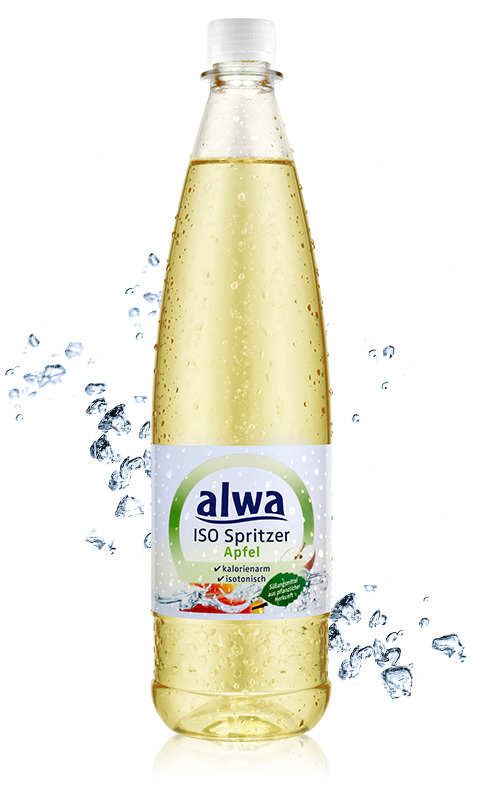 Willkommen bei alwa - Produkte - ISO Spritzer Apfel